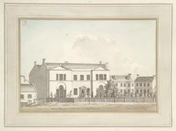 Mr Hamilton's House on the Steyne at Brighthelmstone